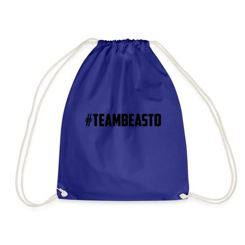 #TeamBeasto Black Best Sellers - Drawstring Bag