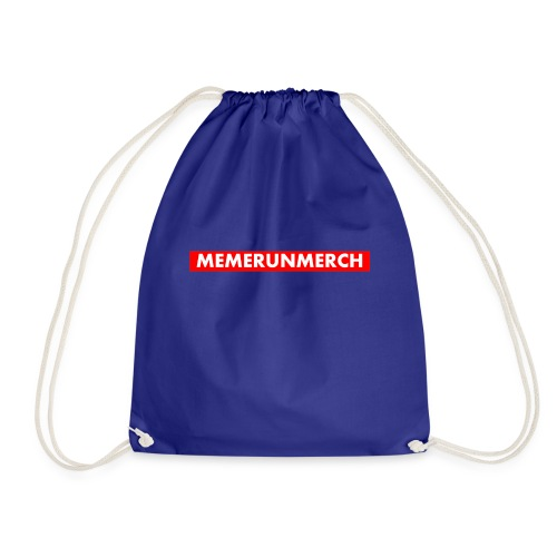 memrunmerch logo - Drawstring Bag