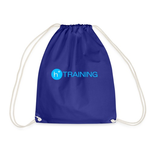 h+ training logo - Turnbeutel