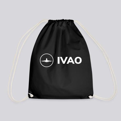 IVAO (Logo Complet Blanc) - Sac de sport léger