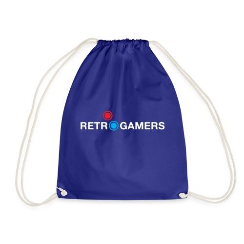 Logo Retrogamers Blanco - Mochila saco