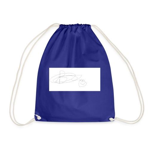 bw signiture - Drawstring Bag