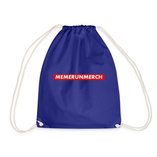memrunmerch logo - Drawstring Bag