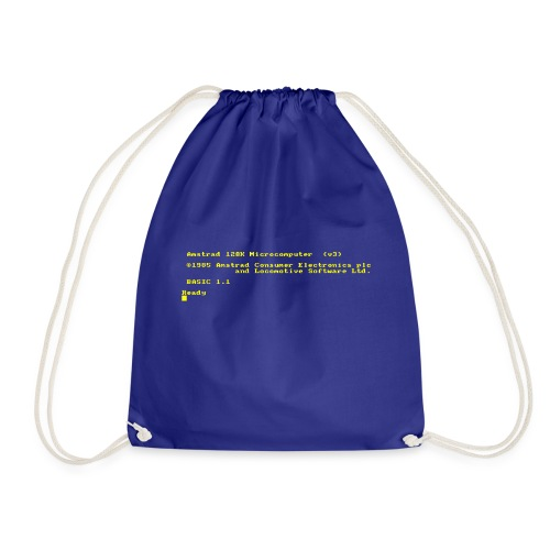 Amstrad CPC 6128 retro gaming and vintage computer - Drawstring Bag