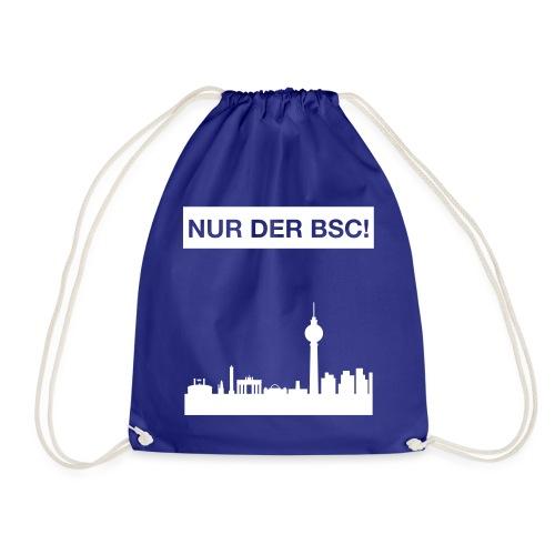 Berlinskyline_weiß - Turnbeutel