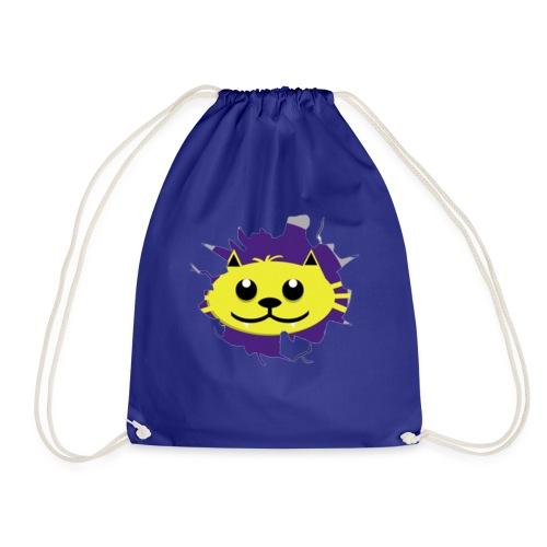 crack t - Drawstring Bag