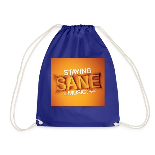 Staying Sane In The Music Game Design - Drawstring Bag