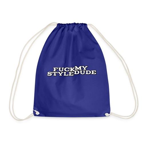 White T-Shirt - FMSD - Drawstring Bag