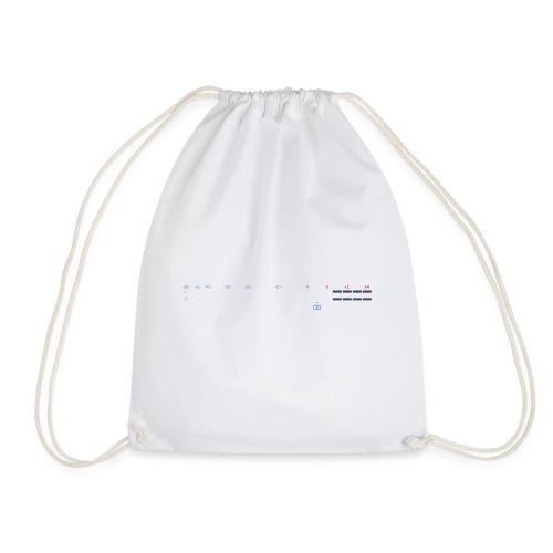 digital VU meters - Drawstring Bag