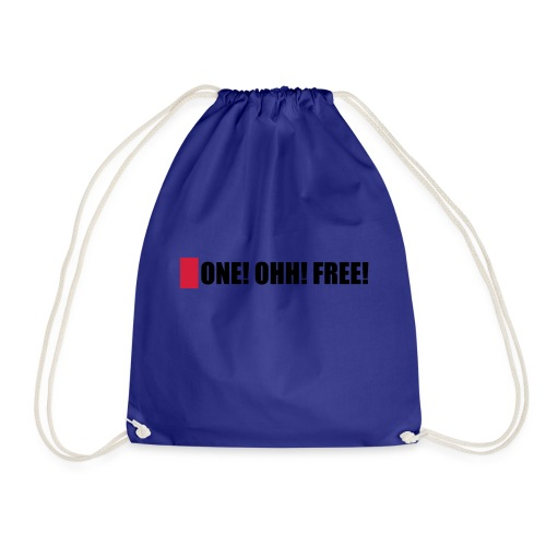 ONE! OHH! FREE! - Turnbeutel