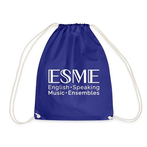 ESME Logo Weiss - Turnbeutel