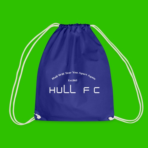 Hull FC Joy [White] - Drawstring Bag