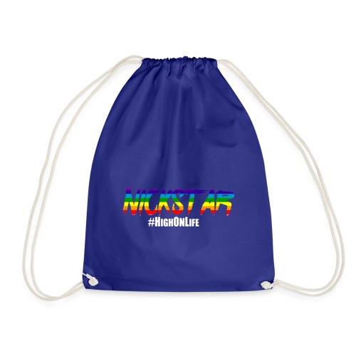 High On Life-Shirt - Drawstring Bag