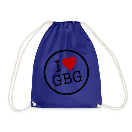 I Love Gbg - tygkasse - Gymnastikpåse