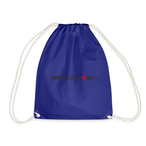 PressRecordTV - Drawstring Bag