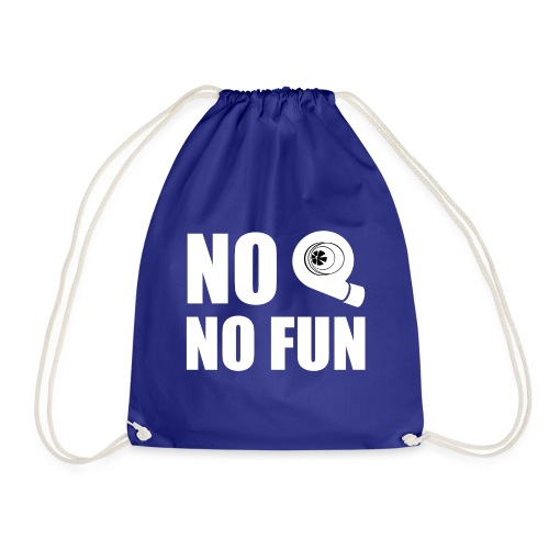 No turbo no fun - Sacca sportiva