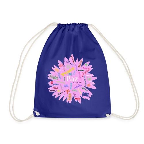 peace - Drawstring Bag