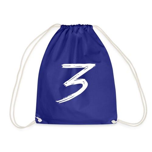 3 Logo - Sacca sportiva