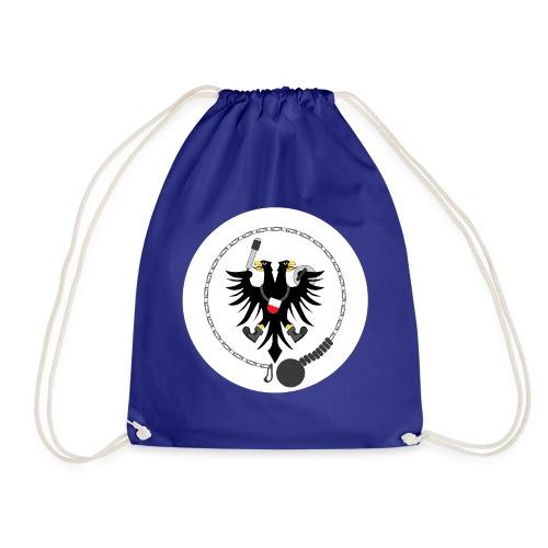 Hanseatic Jugger Logo weiß - Turnbeutel