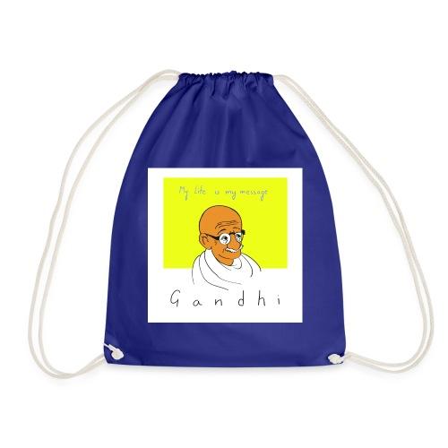 Gandhi - Turnbeutel