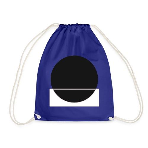 Bianco e nero - Drawstring Bag