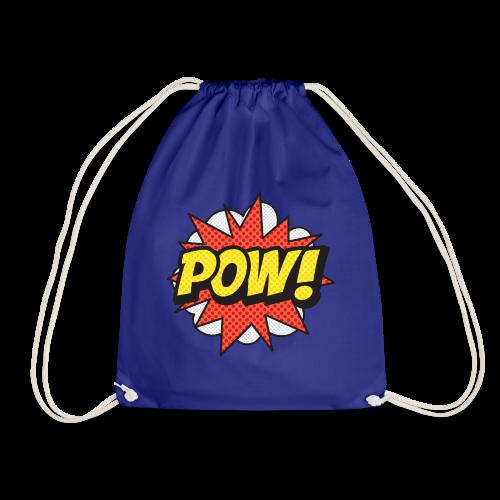 ONOMATOPOEIA. Pow! - Drawstring Bag