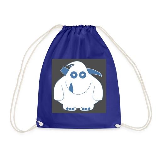 Pinky Monster - Drawstring Bag