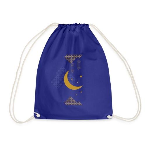 Ramadan Kareem Muslim holy month ilustration - Drawstring Bag