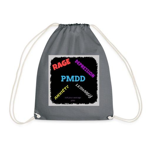 Pmdd symptoms - Drawstring Bag