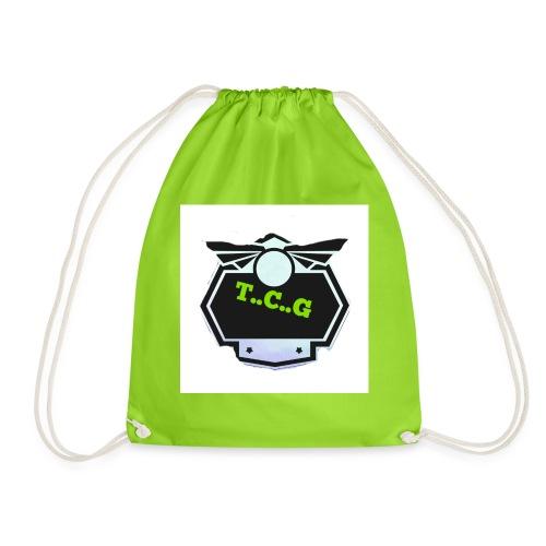 Cool gamer logo - Drawstring Bag