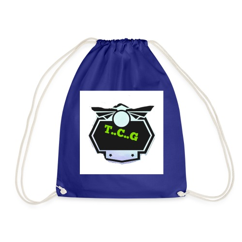 Cool gamer logo - Drawstring Bag
