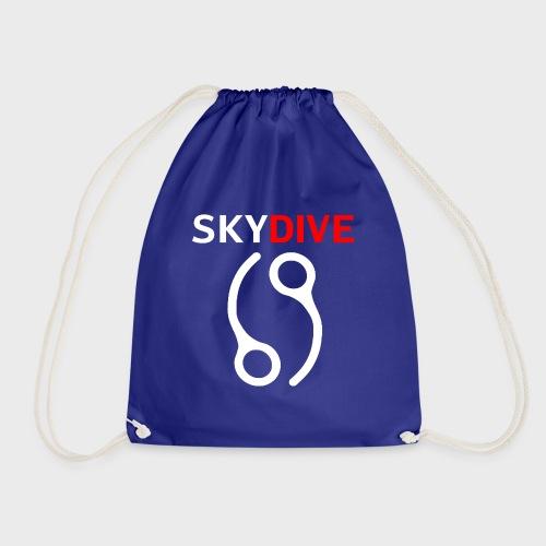 Skydive Pin 69 White - Turnbeutel