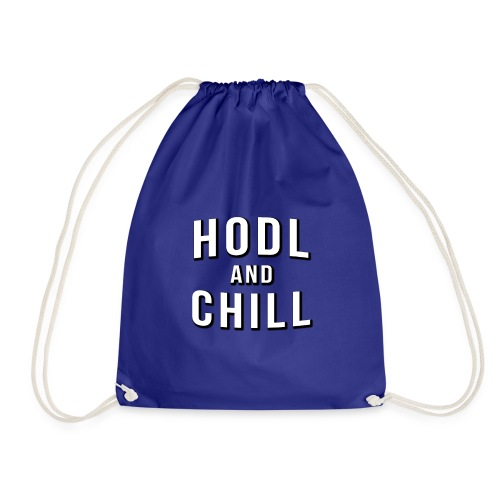 Hodl and chill! - Netflix - Drawstring Bag