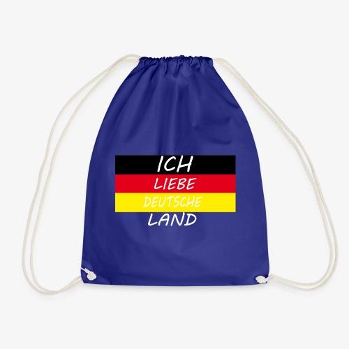 Ich Liebe Deutsche land - Turnbeutel
