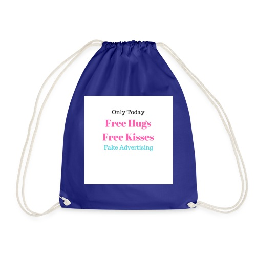 Free Kisses - Drawstring Bag