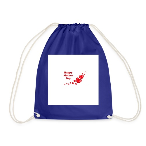 happy mother day - Drawstring Bag