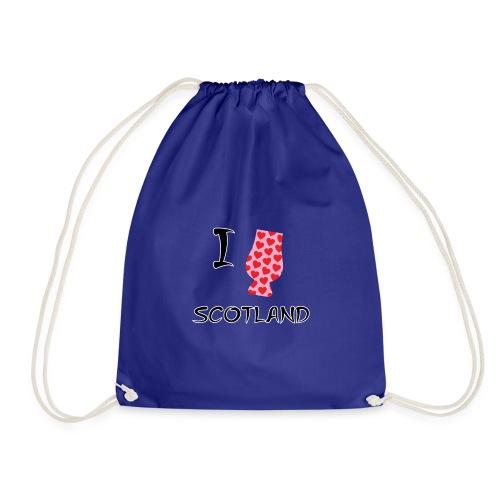 I Love Scotland - Glencairn - Drawstring Bag