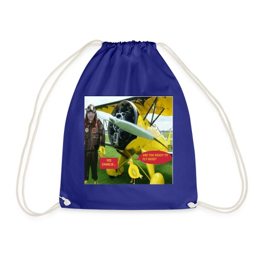 ARE YOU READY TO FLY - Drawstring Bag
