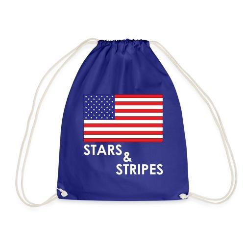 Stars & Stripes | Flagge USA - Turnbeutel