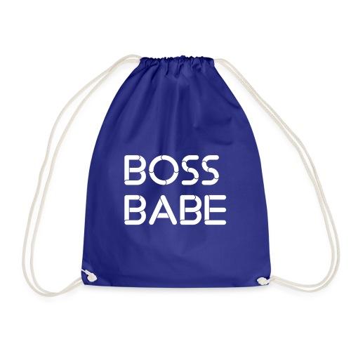 Boss Babe weiss - Turnbeutel