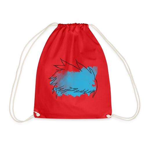 Blue Splat Original - Drawstring Bag