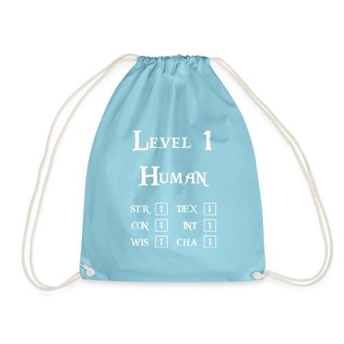 Level 1 Human - Wit - Gymtas