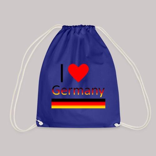 I love Germany - Ich liebe Deutschland - Turnbeutel