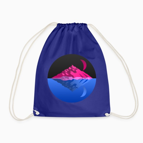 Bisex mountains - Drawstring Bag