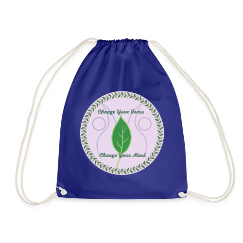 Change your focus, Change your mind - Drawstring Bag