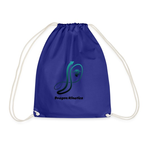 Dragon Kinetics green logo - Drawstring Bag