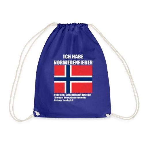 Ich habe Norwegenfieber - Turnbeutel