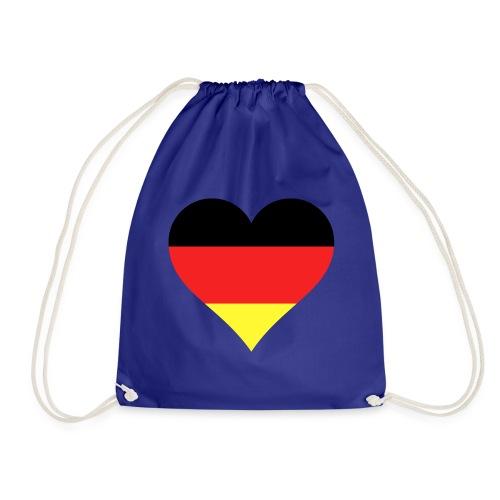 Deutsches Herz - Turnbeutel