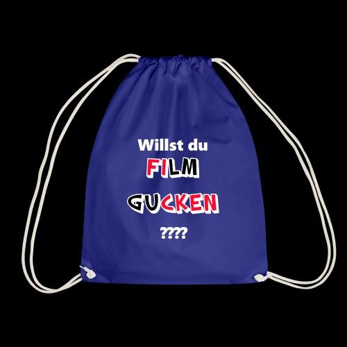 Willst du Film gucken?? - Turnbeutel