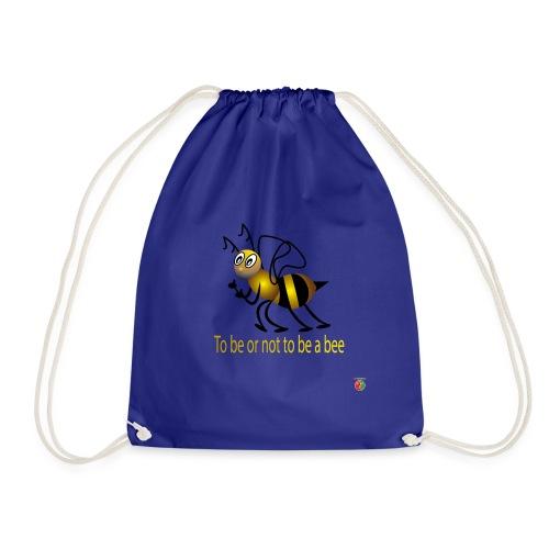 logo abeille3D 01 - Sac de sport léger